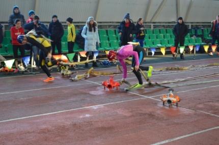 В Подмосковье прошли соревнования по пожарно-прикладному спорту