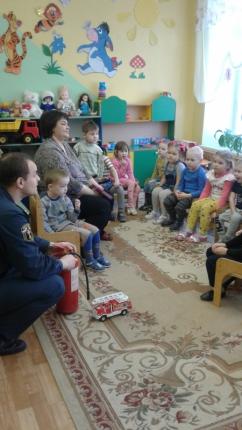 (02.12.18) Сотрудник МЧС России напомнил о правилах пожарной безопасности