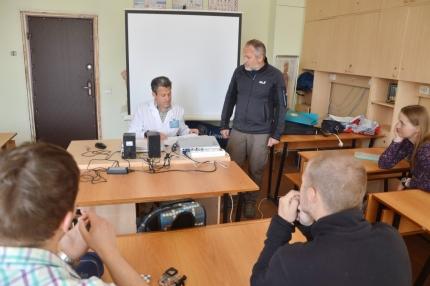 Занятия по оказанию первой помощи со студентами-спасателями Всероссийского студенческого корпуса спасателей