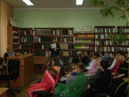 Местом встречи школьников и сотрудников МЧС России стала городская библиотека
