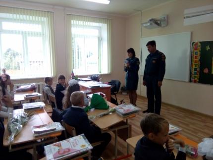 (16.09.2018) Урок безопасности для школьников Смоленской области