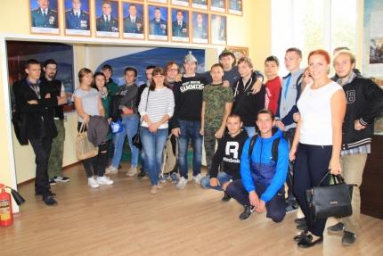 Студенты Смоленского политехнического колледжа побывали в Центре противопожарной пропаганды