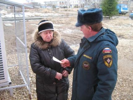 Продолжаются профилактические рейды по соблюдению правил пожарной безопасности в частном секторе