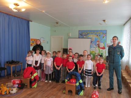 (18.02.19) Пожарная эстафета в детском саду №5 города Ярцево