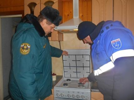 Рейды по проверке газового оборудования в Смоленской области продолжаются (27.02.2017)