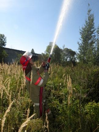 (10.07.2018) Работа подразделений добровольной пожарной охраны на территории Смоленской области