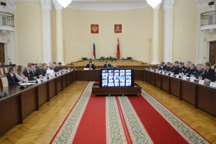 (03.10.19) Заседание Координационного совещания по обеспечению правопорядка в Смоленской области