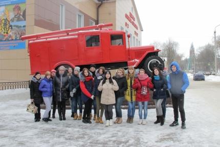 О пожарной безопасности на железной дороге рассказали в Центре противопожарной пропаганды (13.02.2017)