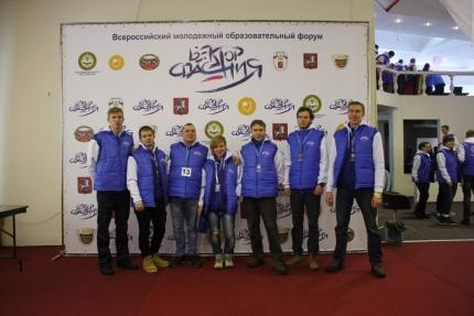 Смоленские студенты-спасатели принимаю участие во Всероссийском молодежном форуме «Вектор спасения»