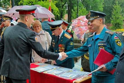 (30.06.2018) Торжественное вручение аттестатов смоленским кадетам