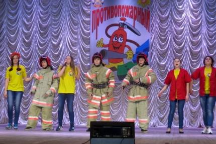 """В год пожарной охраны КВН """"зажигает"""" особенно ярко!"""
