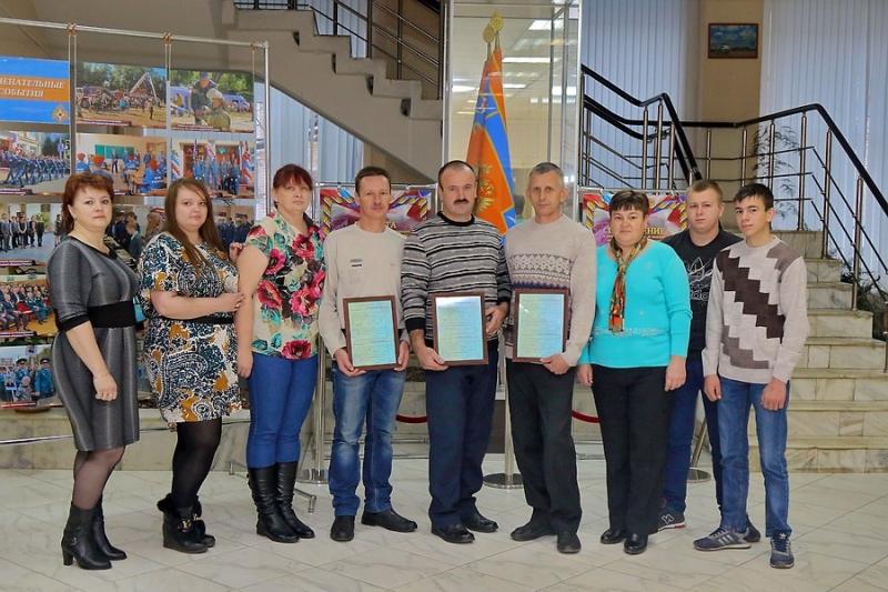 В Главном управлении МЧС России по Смоленской области были вручены государственные жилищные сертификаты