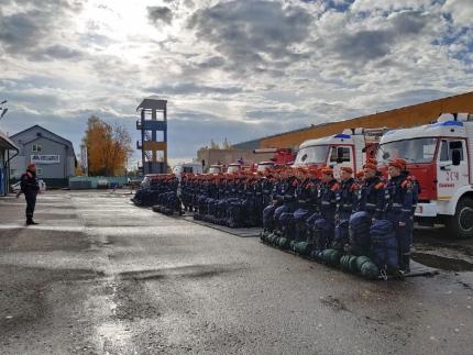 (02.10.19) Практические мероприятия, проводимые в рамках Всероссийской тренировки по гражданской обороне, завершены