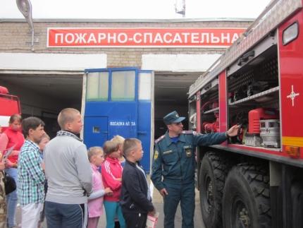 Год пожарной охраны – хороший повод посетить пожарно-спасательную часть