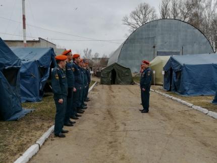 В Смоленской области завершился II этап Всероссийского командно-штабного учения (18.04.2018)