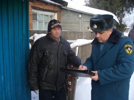(20.01.19) Дачникам напомнили о пожарной безопасности