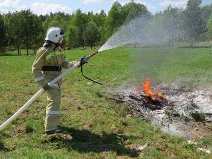 (11.05.19) Работа подразделений добровольной пожарной охраны на территории Смоленской области