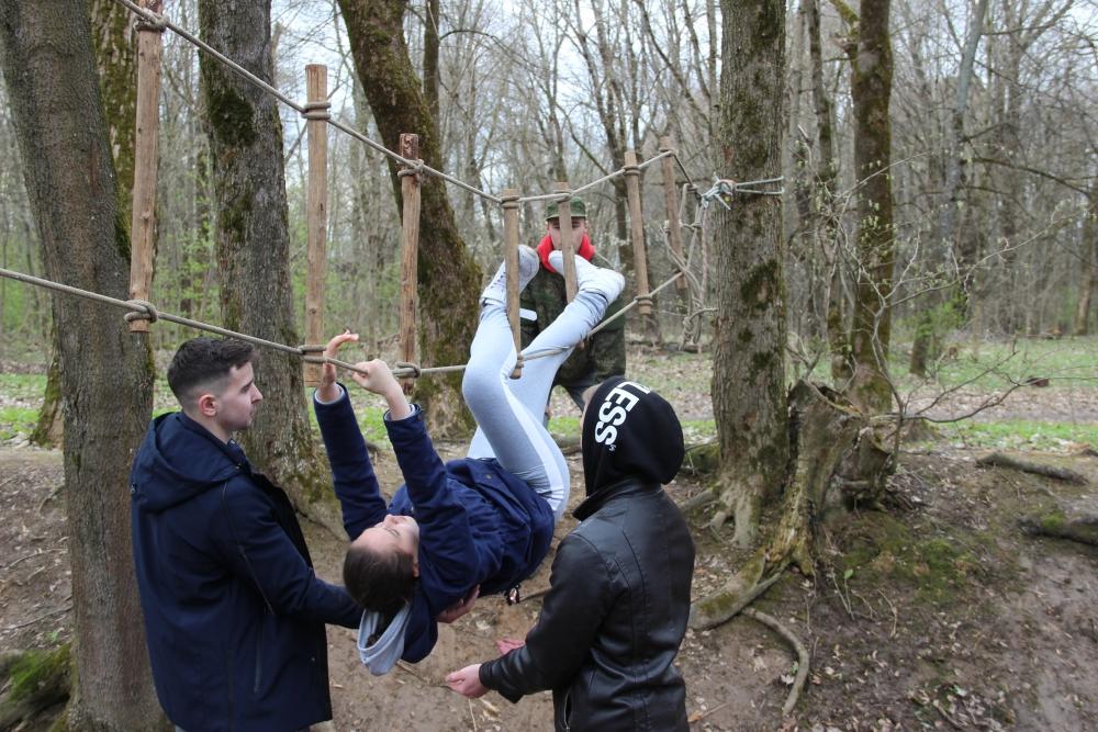(24.04.2018) Городские соревнования «Школа безопасности», посвященные Дню памяти Чернобыльской катастрофы
