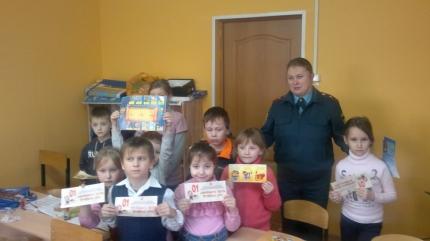Увлекательная встреча в Новодугинском «Доме детского творчества»