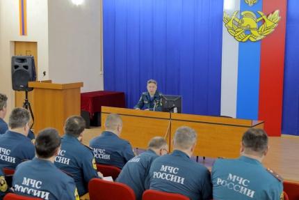 (05.03.19) Сборы с начальниками местных пожарно-спасательных гарнизонов