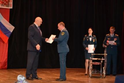 В городе Десногорске отметили лучших сотрудников пожарной охраны