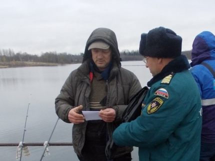(23.11.18) Предупреждению происшествий на водоемах – особое внимание