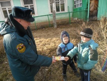 Основные усилия на профилактику палов травы (09.04.2018)