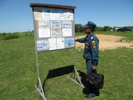 (27.06.2018) Безопасность отдыхающих на водоёмах всегда под контролем