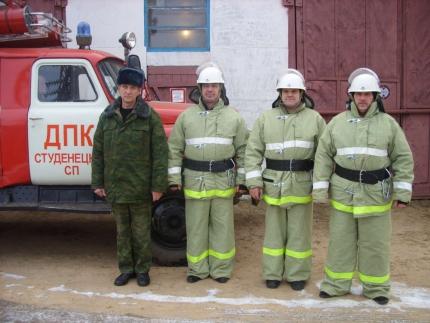 (22.01.19) Работа подразделений добровольной пожарной охраны на территории Смоленской области