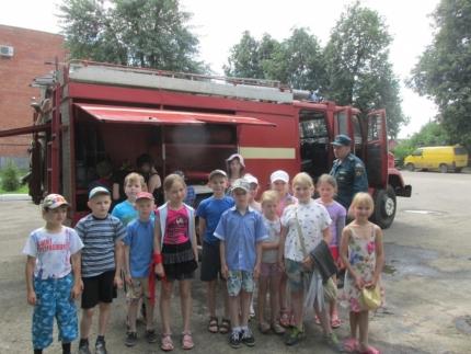 О безопасности в летний период Рославльским школьникам