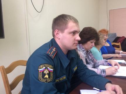 (07.02.19) О пожарной безопасности на комиссии по делам несовершеннолетних