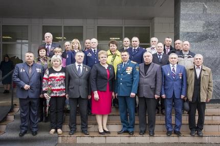 В Главном управлении МЧС России по Смоленской области отметили лучших сотрудников пожарной охраны