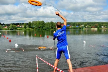 (19.07.2018) Второй день соревнований среди юных спасателей-водников! Удачи нашим спортсменам!