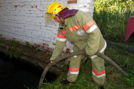 (07.08.2018) Работа подразделений добровольной пожарной охраны на территории Смоленской области