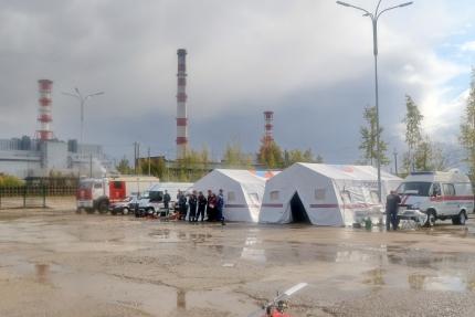 (20.09.19) На Смоленской АЭС прошли самые крупные в году комплексные противоаварийные учения