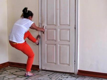 Если захлопнулась дверь
