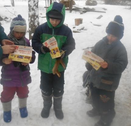 В Ельнинском районе продолжается акция «сохрани жизнь себе и своему ребенку»