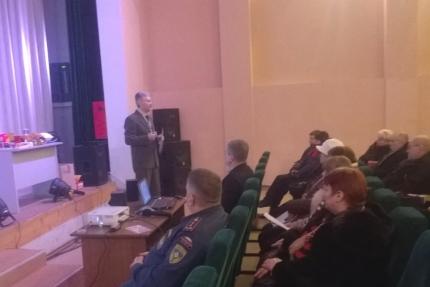 Учебно-методический семинар по вопросам пожарной безопасности (10.02.2017)