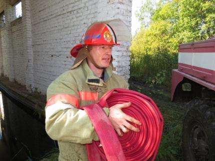 (25.07.2018) Работа подразделений добровольной пожарной охраны на территории Смоленской области