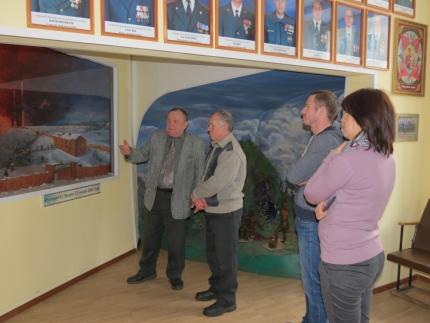 (24.01.19) Слушатели учебно-методического центра посетили пожарно-техническую выставку