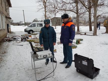 (15.03.19) «Струна-M» из города Курска работает на месте происшествия в Ярцеве