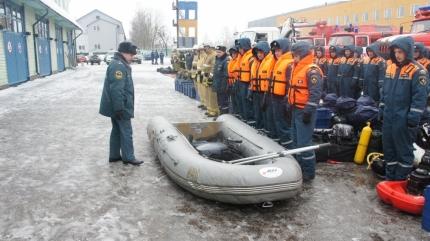 Смоленская область принимает участие в совместной штабной тренировке по ликвидации ЧС, вызванных весенним половодьем (21.02.2017)