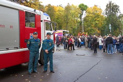 Обеспечение безопасности во время празднования годовщины освобождения Смоленска от фашистских захватчиков и Дня города