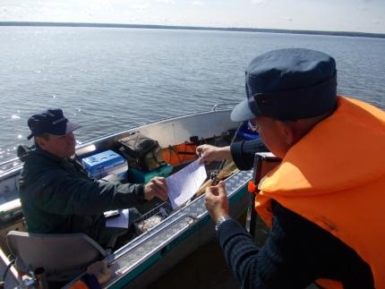 (22.09.19) Безопасность на водоемах – на контроле сотрудников ГИМС