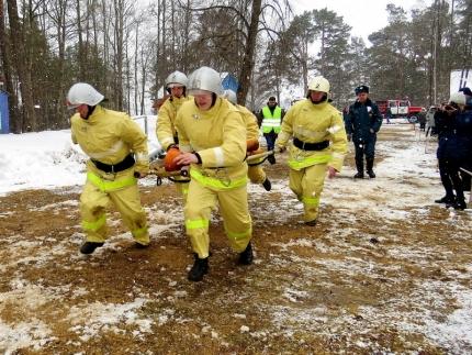 Олимпиада профессионального мастерства среди будущих пожарных специалистов