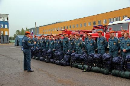 (12.09.2018) Главное управление МЧС России по Смоленской области принимает участие в комплексной тренировке