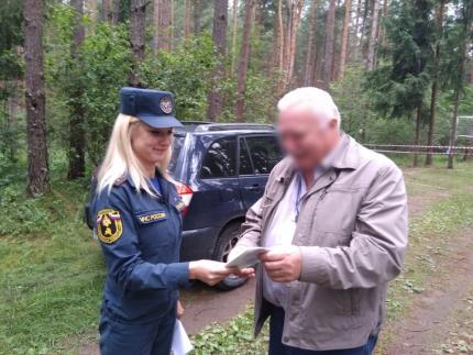 (07.07.19) О пожарной безопасности дачникам