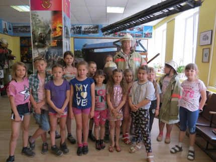 (06.07.19) Увлекательная экскурсия в мир пожарной безопасности