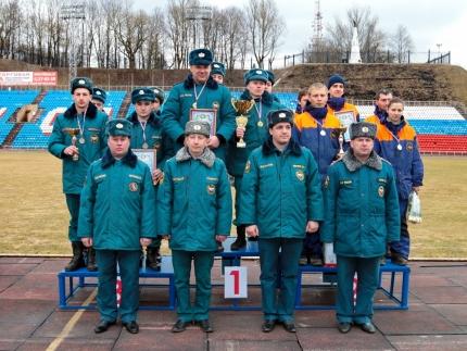 В Смоленске завершились VII – е региональные соревнования по проведению аварийно-спасательных работ при ликвидации последствий ДТП