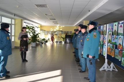 В детской художественной школе города Десногорска прошла плановая противопожарная тренировка